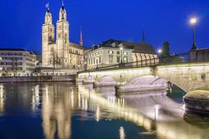 centro della città di zurigo, svizzera