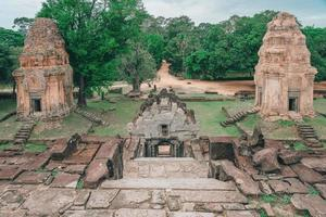 Bakong Prasat Temple nel complesso di Angkor Wat, Siemens Reap, Cambogia