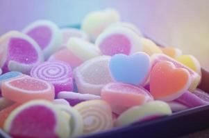 caramella gelatina dolce foto