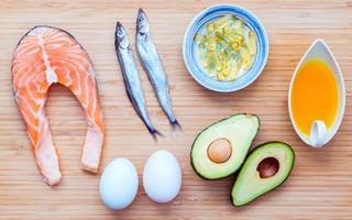prodotti alimentari sani foto