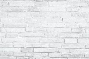fondo di struttura del muro di mattoni bianchi foto