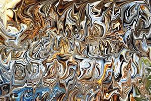 sfondo marmorizzato con colori metallici foto