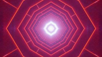 illustrazione di progettazione caleidoscopio 3d colorato per lo sfondo o la trama foto