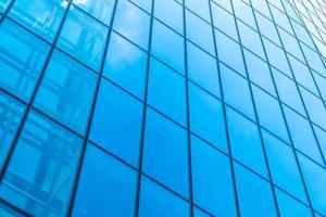 grattacielo con motivo di vetro della finestra foto