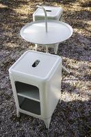 set di mobili da esterno