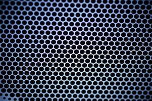 sfondo della griglia dell'altoparlante foto