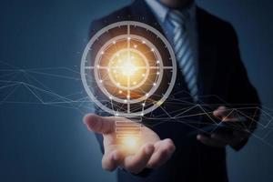 concetto di innovazione e tecnologia foto