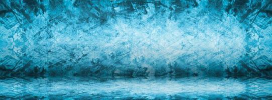 banner di sfondo blu foto