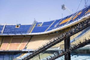 dettaglio dello stadio di calcio foto