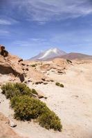 vulcano licancabur in bolivia foto