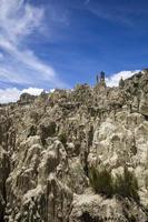 valle de la luna in bolivia foto