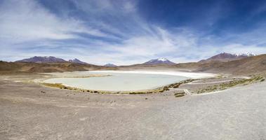 laguna hedionda in bolivia foto