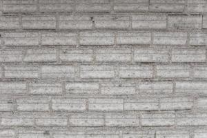 vecchio muro di mattoni bianchi vintage foto