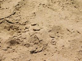 patch di sabbia per lo sfondo o la trama foto