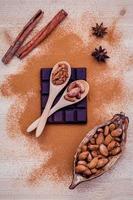 concetto di ingrediente di dessert foto