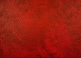 rosso scuro su acrilico nero foto