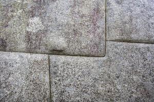 vecchio muro di pietra foto