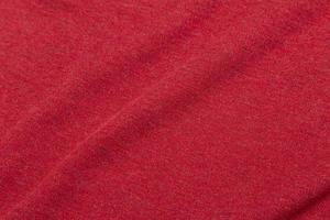 trama del tessuto rosso foto