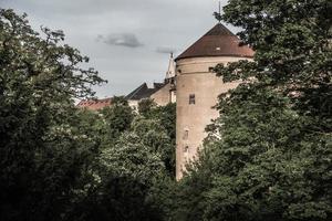 repubblica ceca 2017 - mihulka - torre delle polveri al castello di praga foto
