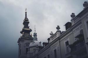 st. la cattedrale di san michele a belgrado, in serbia foto
