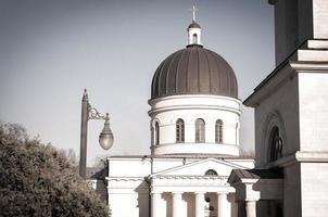 cattedrale della natività di cristo a chisinau, repubblica di moldova foto