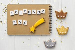concetto di giorno dell'Epifania foto