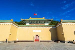il museo del palazzo nazionale nella città di taipei, taiwan foto