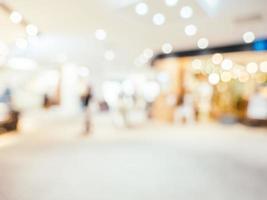 priorità bassa defocused astratta del centro commerciale foto