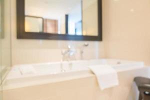 astratto sfondo sfocato bagno e servizi igienici foto
