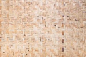 trama di trama di bambù intrecciato per interni foto