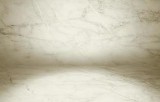 Illustrazione 3D di struttura in marmo posizionata continuamente da una superficie piana foto
