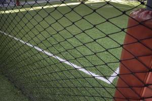 campo di allenamento di calcio al coperto foto