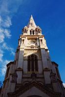 architettura della chiesa nella città di bilbao, spagna foto