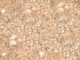 patch di terreno roccioso per lo sfondo o la trama foto