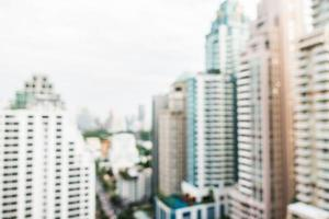 priorità bassa defocused astratta della città di Bangkok foto