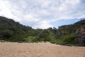 vista alla spiaggia australiana foto