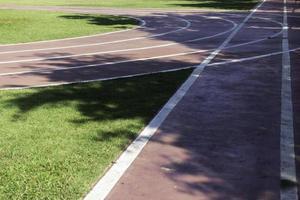 stadio di atletica leggera all'aperto foto