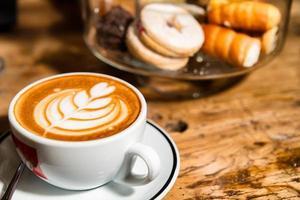 cappuccino artistico italiano foto
