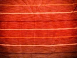 tessuto rosso per sfondo o texture foto