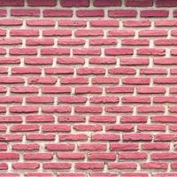 fondo di struttura del modello del muro di mattoni rossi foto