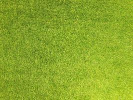 sfondo di erba artificiale per il design foto