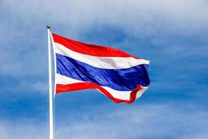 bandiera della thailandia foto