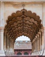 Forte di Agra ad Agra, Uttar Pradesh, India foto