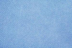 primo piano blu sullo sfondo del tessuto foto