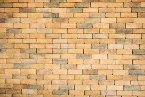 vecchio sfondo muro di mattoni d'epoca foto