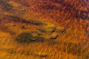 priorità bassa astratta rossa e gialla dell'acqua foto