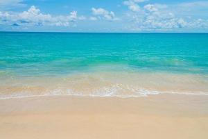 bellissimo sfondo del mare tropicale foto