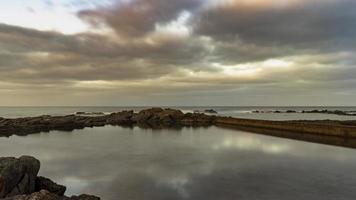 spiaggia di el portillo ad arucas gran canaria foto