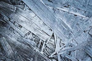 dettaglio vecchio truciolare verniciato bianco foto