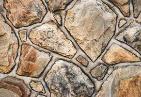 vecchia pavimentazione in pietra foto